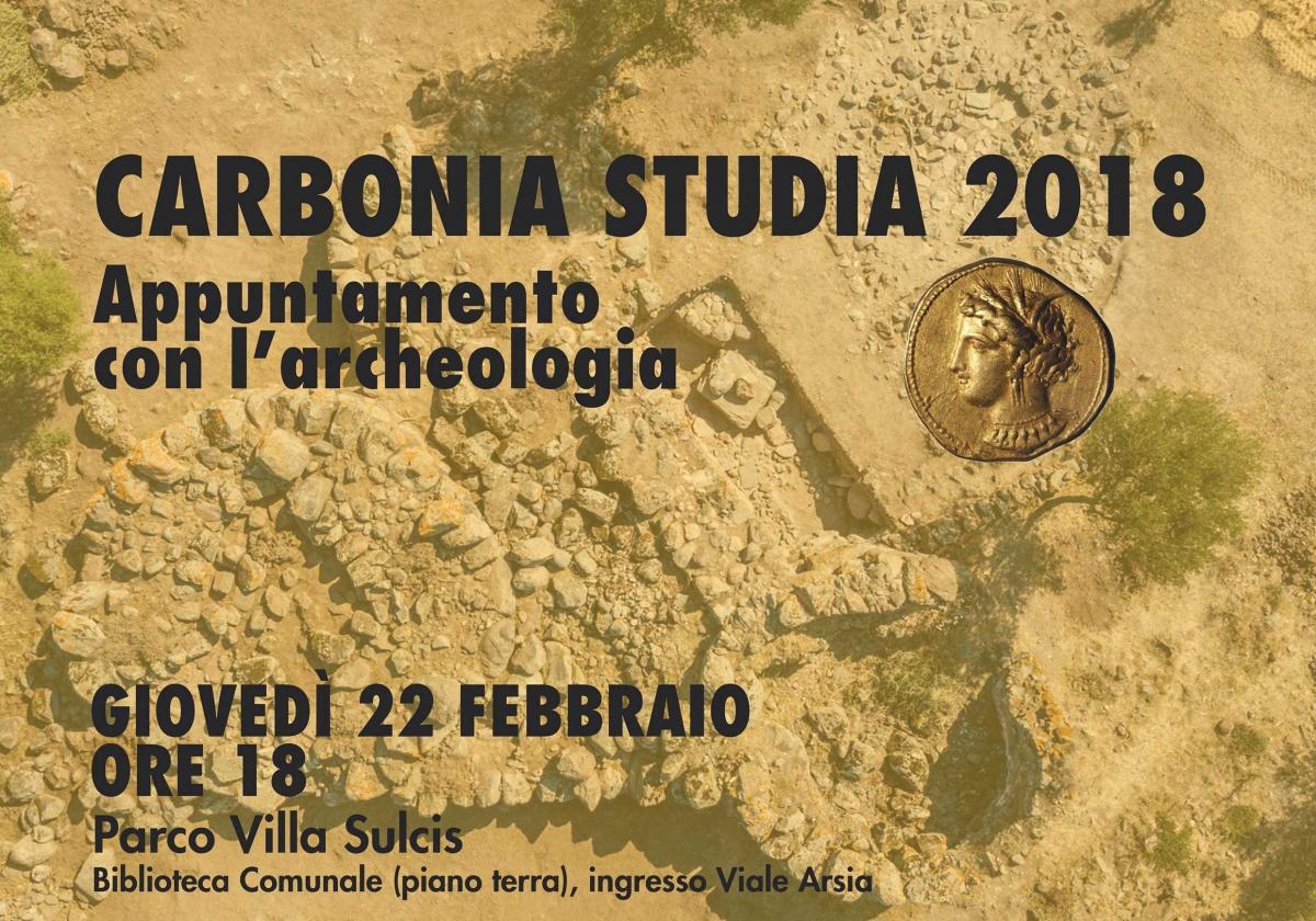 CARBONIA STUDIA 2018 - Appuntamento con l'archeologia