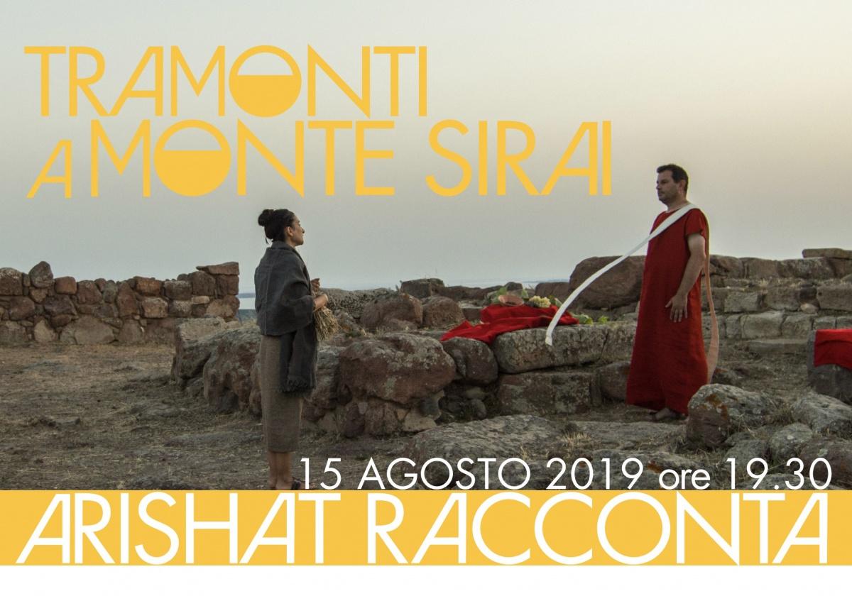Tramonti a Monte Sirai. Arishat racconta...
